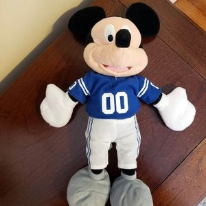 Mickey Mouse Disney NFL Indy Colts Plushie